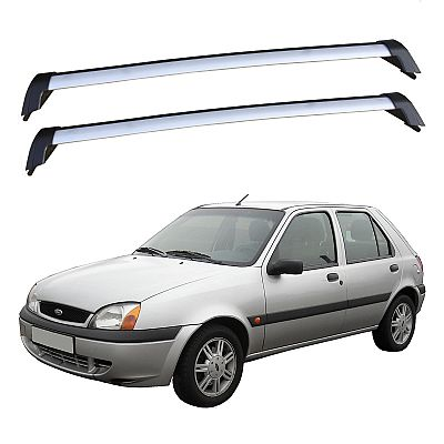 Rack de Teto Fiesta Street 4 Portas 1996 até 2006 Eqmax Bagageiro