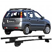 Rack de Longarina Suzuki Ignis 2001 Até 2005 Eqmax Aço