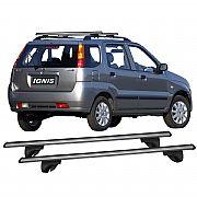 Rack de Longarina Suzuki Ignis 2001 até 2005 Eqmax Alumínio