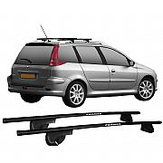 Rack de Longarina / Teto Eqmax Peugeot 206 SW Aço