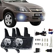 Kit Faról de Milha Chevrolet Celta 2008 adiante Faról Neblina
