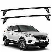Rack de Teto Hyundai Creta 2015 até 2019 Eqmax Bagageiro Aço
