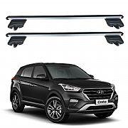 Rack de Teto Hyundai Creta 2017 até 2019 Travessas Eqmax Beta