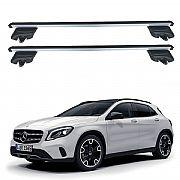 Rack de Teto Mercedes GLA 2015 até 2019 Travessas Eqmax Beta