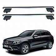 Rack de Teto Mercedes GLC 2016 até 2019 Travessas Eqmax Beta