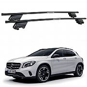Rack de Teto Mercedes GLA 2015 até 2019 Travessas Eqmax Beta Aço
