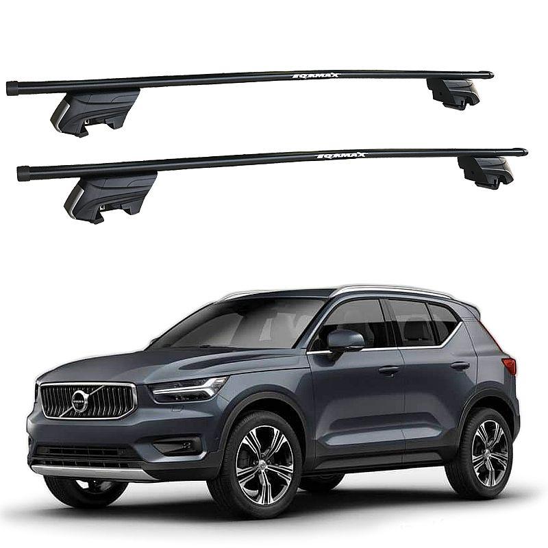 Rack de Teto Volvo XC40 2018 e 2019 Travessas Eqmax Beta Aço