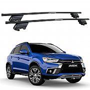 Rack de Teto Mitsubishi ASX 2011 até 2019 Travessas Eqmax Beta Aço