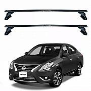 Rack de Teto Nissan Versa 2012 até 2019 Eqmax Bagageiro Aço