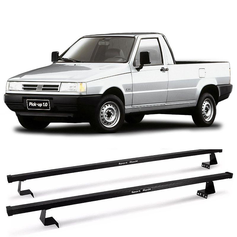 Rack de Caçamba Fiorino 1988 até 1999 Eqmax Sport Rack Aço