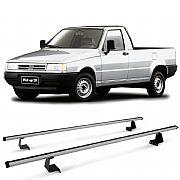 Rack de Caçamba para Fiat Fiorino 1988 até 1999 Eqmax Aluminium