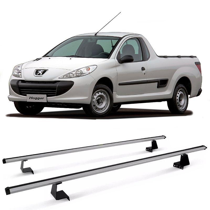 Rack de Caçamba para Peugeot Hoggar 2010 até 2014 Eqmax Aluminium
