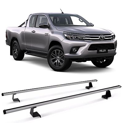 Rack de Caçamba Toyota Hilux 1995 até 2019 Eqmax Aluminium