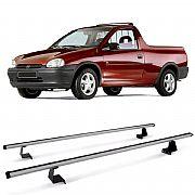 Rack de Caçamba para Pick Up Corsa 1995 até 2003 Eqmax Aluminium
