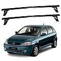 Rack de Teto GM Corsa Hatch ou Sedan 2002 até 2012 Eqmax Aço
