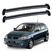 Rack de Teto Corsa Hatch ou Sedan 2002 até 2012 Eqmax Bagageiro
