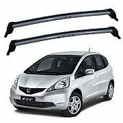 Rack de Teto para Honda New Fit 2009 até 2014 Eqmax New Wave