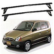 Rack de Teto Hyundai Atos 1999 até 2003 Eqmax Bagageiro Aço