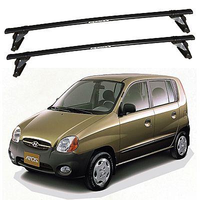 Rack de Teto para Hyundai Atos 1999 até 2003 Travessas Eqmax