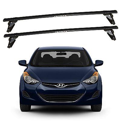 Rack de Teto Hyundai Elantra 2011 até 2016 Eqmax Bagageiro Aço
