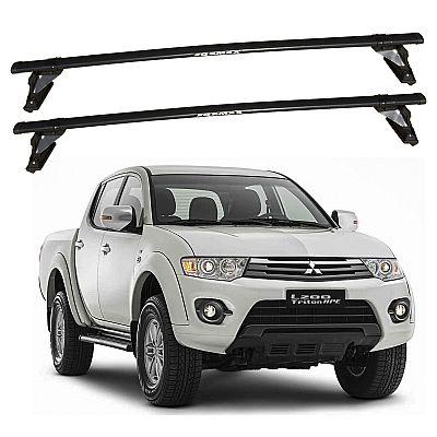 Rack de Teto Mitsubishi L200 Triton 2007 até 2016 Travessas Eqmax