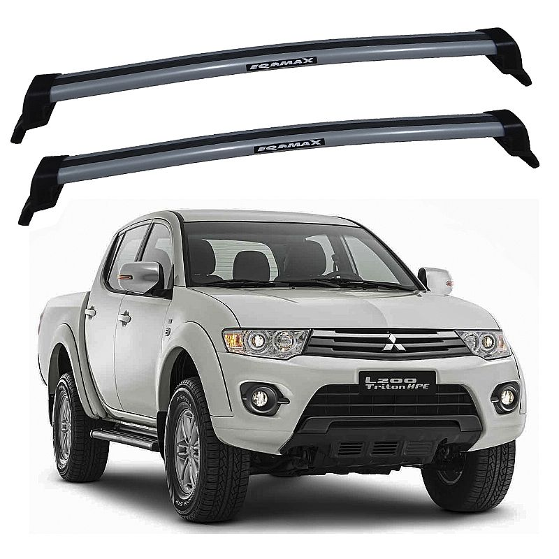 Rack de Teto Mitsubishi L200 Triton 2007 até 2016 Eqmax New Wave