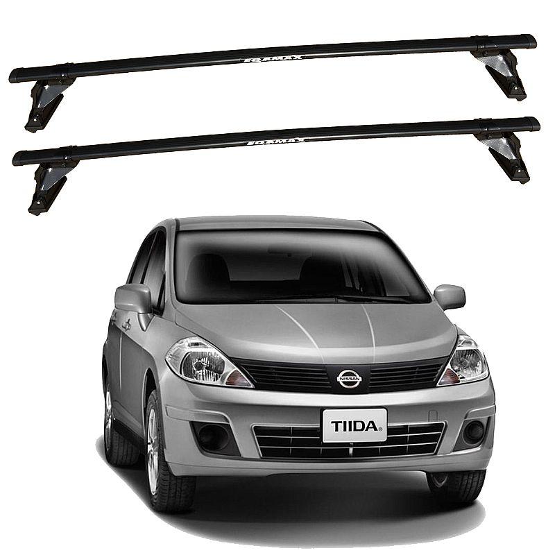 Rack Bagageiro de Teto Nissan Tiida 2007 até 2013 Eqmax