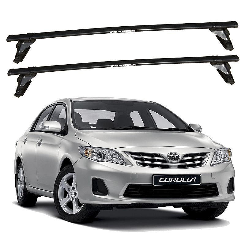 Rack de Teto Toyota Corolla 1995 até 2019 Eqmax Bagageiro Aço