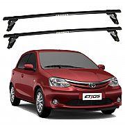 Rack de Teto Toyota Etios 2013 até 2020 Eqmax Bagageiro Aço