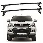 Rack de Teto Toyota Hilux 2006 até 2015 Eqmax Bagageiro Aço