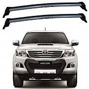Rack de Teto Toyota Hilux 2006 até 2015 Travessas Eqmax New Wave