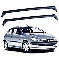 Rack de Teto Peugeot 206 2 portas 1998 até 2010 Eqmax Bagageiro