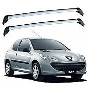 Rack de Teto Peugeot 207 2 portas 2008 até 2015 Eqmax Bagageiro