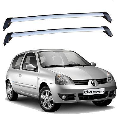 Rack de Teto para Renault Clio 2 portas 2000 até 2016 Eqmax Wave
