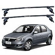 Rack de Teto para Renault Logan 2008 até 2013 Travessas Eqmax