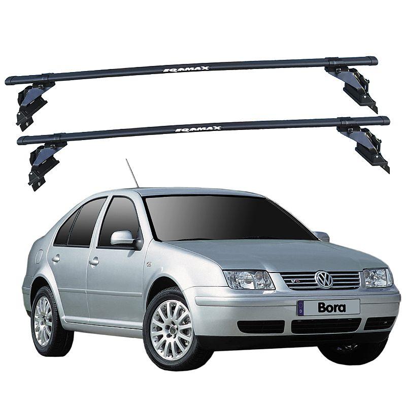 Rack de Teto Bora 2000 até 2011 Eqmax Bagageiro Aço